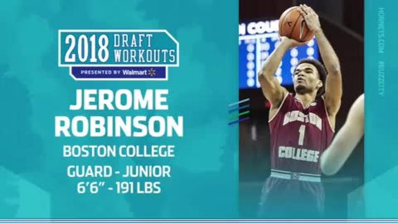 2018 Draft Workouts | Jerome Robinson - 6/19/18