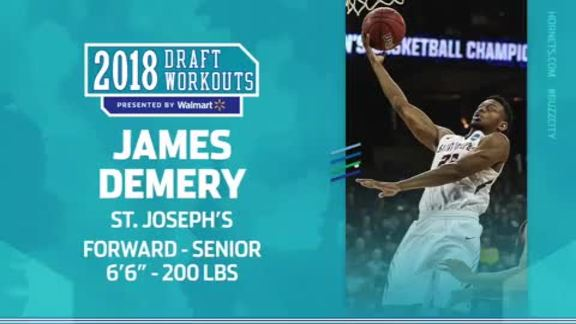 2018 Draft Workouts | James Demery - 6/19/18