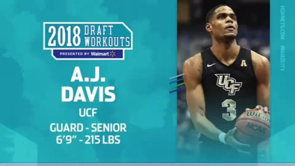 2018 Draft Workouts | A.J. Davis - 6/19/18