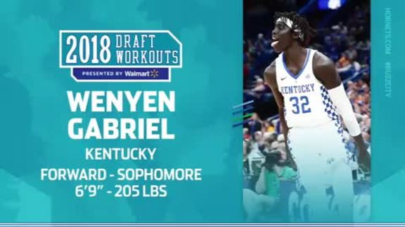 2018 Draft Workouts | Wenyen Gabriel - 6/19/18