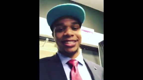 Miles Bridges Has a Message for Buzz City - 6/21/18