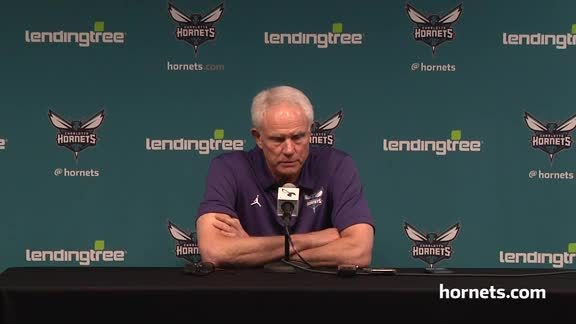 Mitch Kupchak on Hornets 2018 Draft