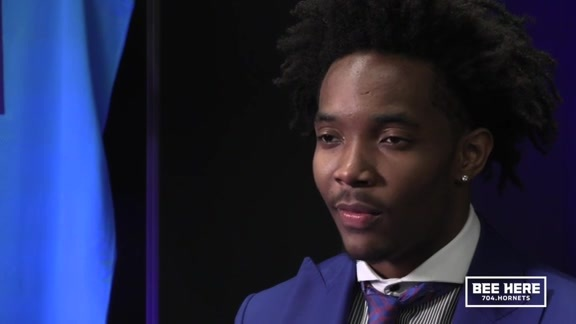 hornets.com Exclusive | Devonte' Graham - 6/22/18