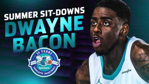 2018 Summer Sit-Downs | Dwayne Bacon - 7/9/18
