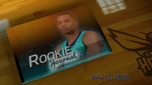 2018-19 Rookie Journal | Miles Bridges - 7/13/18