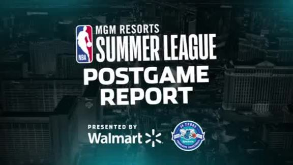 2018 Summer League | Postgame Report - 7/14/18