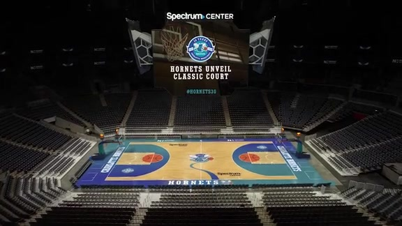 Hornets Unveil Classic Court Design - 8/7/18