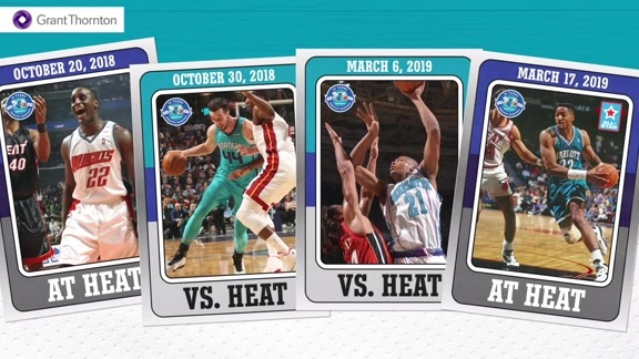 2018-19 Charlotte Hornets Regular-Season Schedule