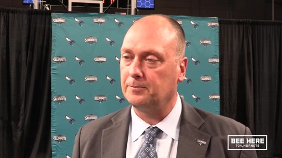 Greensboro Swarm Head Coach Announcement | Joe Wolf - 9/10/18