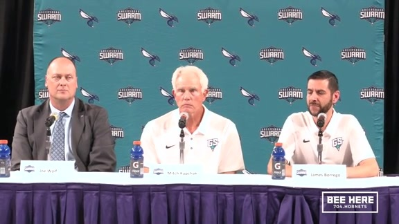 Greensboro Swarm Head Coach Announcement Press Conference - 9/10/18 - Part 1 of 2