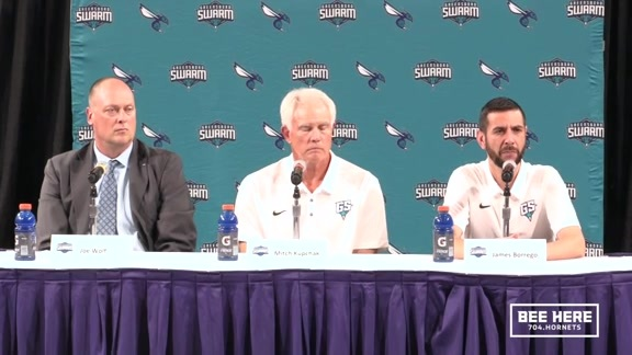Greensboro Swarm Head Coach Announcement Press Conference - 9/10/18 - Part 2 of 2