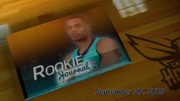 2018-19 Rookie Journal | Miles Bridges - 9/25/18