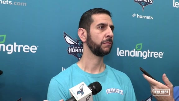 Hornets Practice | James Borrego - 10/15/18