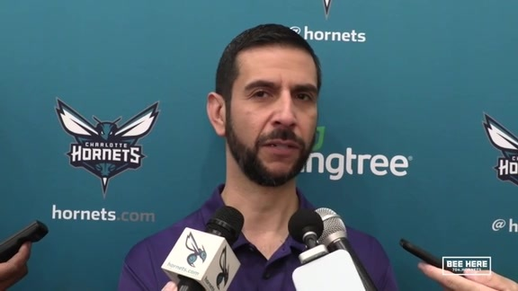 Hornets Practice | James Borrego - 10/16/18