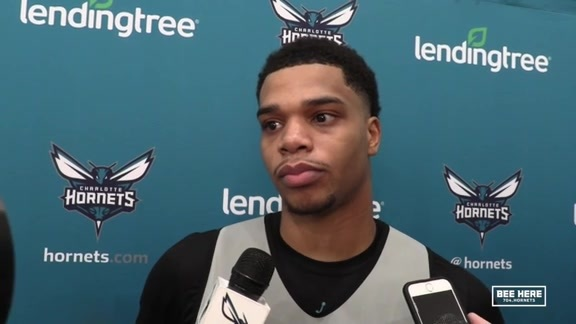 Hornets Shootaround | Miles Bridges - 10/17/18