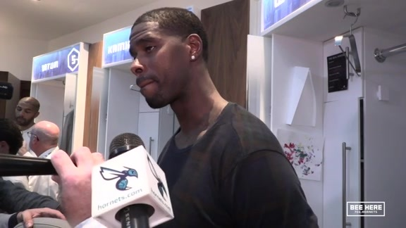 Hornets Postgame | Marvin Williams - 10/17/18
