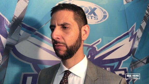 Hornets Postgame | James Borrego 10/19/18