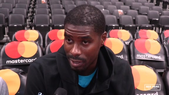 Hornets Shootaround | Marvin Williams - 10/22/18