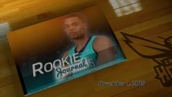 2018-19 Rookie Journal | Miles Bridges - 11/1/18