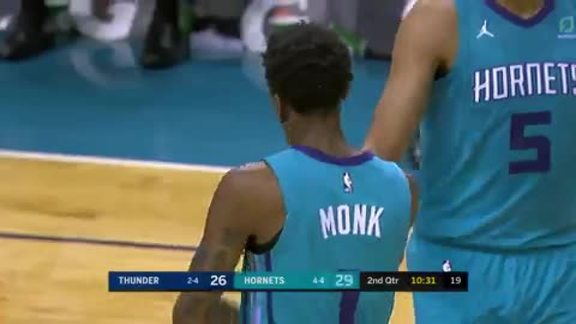 Hornets Highlights | Malik Monk - 11/1/18