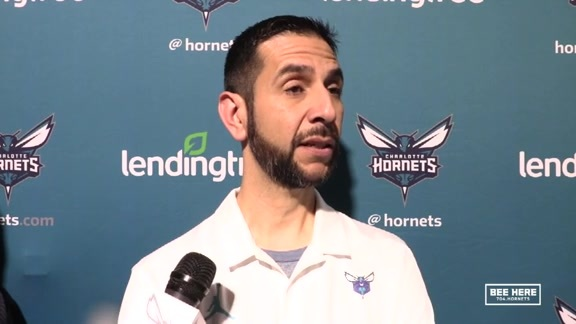 Hornets Pregame | James Borrego - 11/6/18