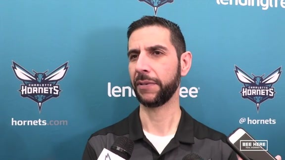Hornets Practice | James Borrego - 11/7/18