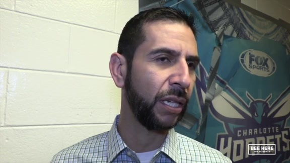 Hornets Pregame | James Borrego - 11/9/18