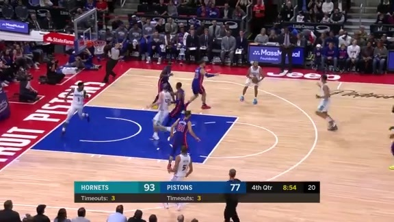 Game Highlights vs Pistons - 11/11/18