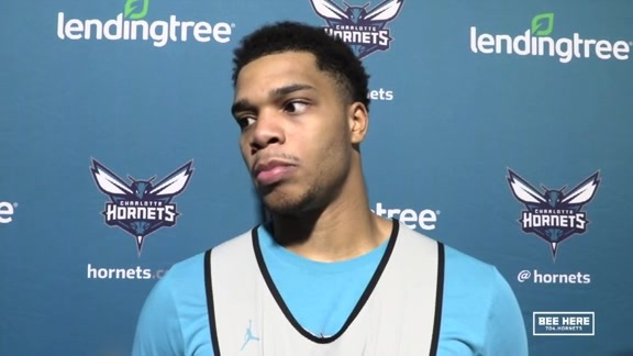 Hornets Shootaround | Miles Bridges - 11/17/18