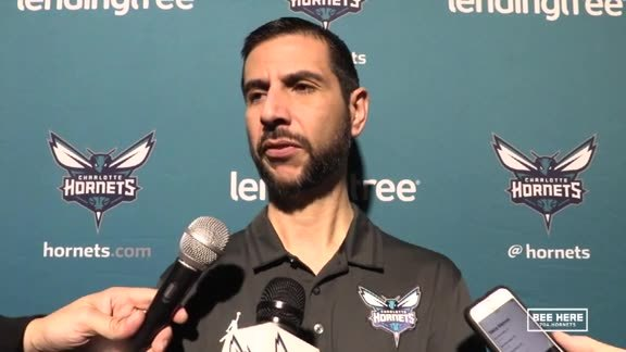 Hornets Pregame | James Borrego - 11/17/18