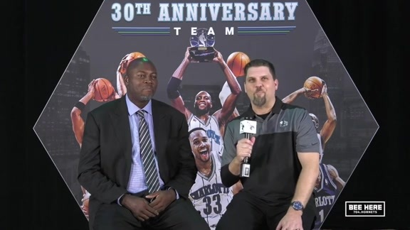 Hornets Legend | Glen Rice - 11/17/18