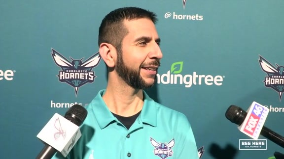 Hornets Practice | James Borrego - 11/20/18