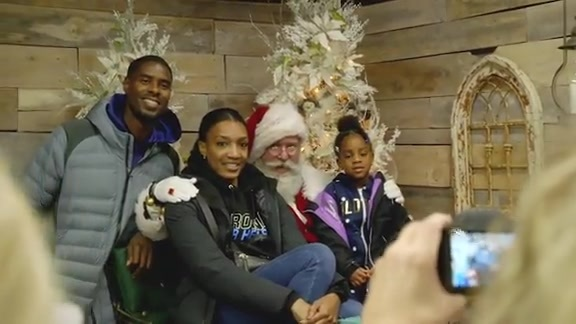 Williams Opens Speedway Christmas at Charlotte Motor Speedway