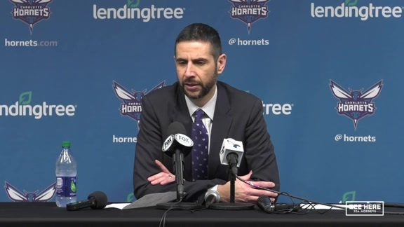 Hornets Postgame | James Borrego - 11/21/18