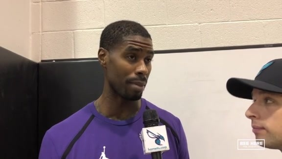 Hornets Practice | Marvin Williams - 11/24/18