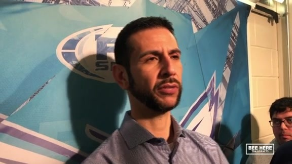 Hornets Pregame | James Borrego - 12/9/18