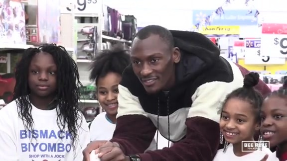 Season of Giving | Bismack Biyombo Shopping Spree - 12/13/18