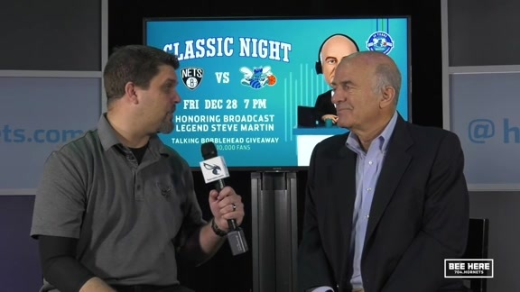 Hornets Broadcast Legend | Steve Martin Interview - 12/27/18