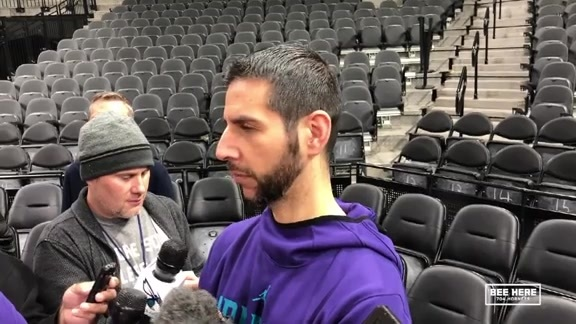 Hornets Shootaround | James Borrego - 1/14/19