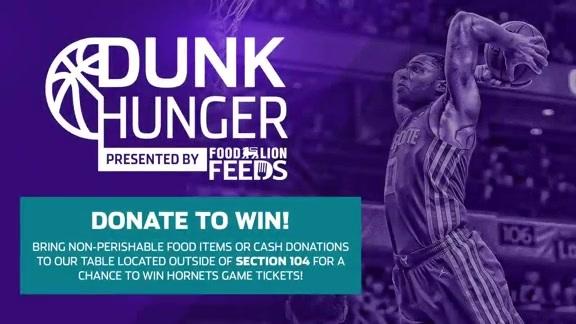 Recap | Dunk Hunger Food Drive - 1/15/19