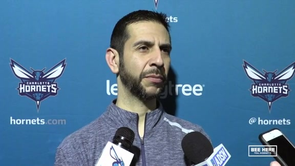 Hornets Pregame | James Borrego - 1/17/19
