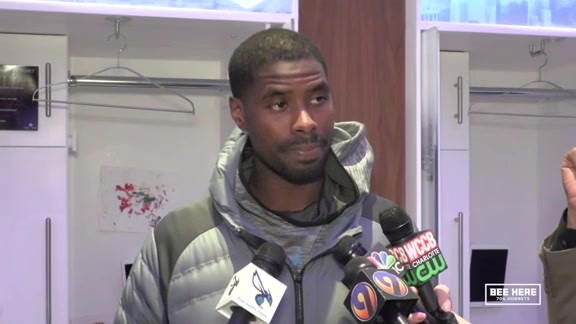 Hornets Postgame | Marvin Williams - 1/19/19