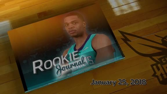 2018-19 Rookie Journal | Miles Bridges - 1/25/19