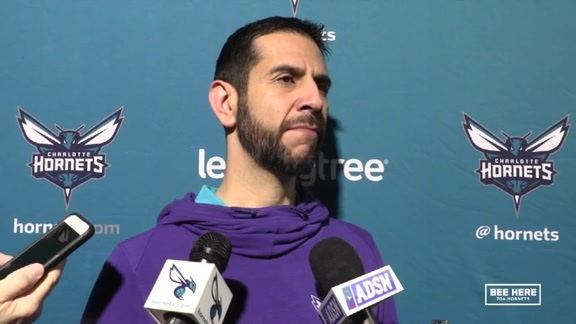 Hornets Pregame | James Borrego - 2/1/19