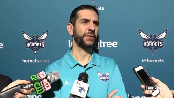 Hornets Pregame | James Borrego - 2/2/19