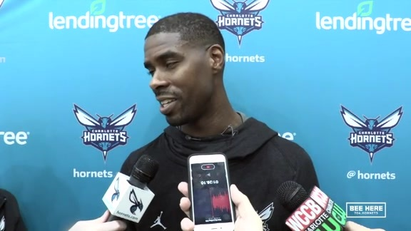 Hornets Practice | Marvin Williams - 2/4/19