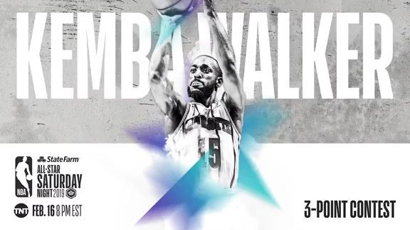 Kemba Walker to Take Part in Three-Point Competition