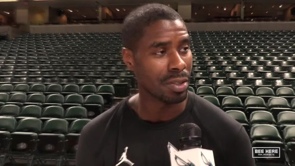 Hornets Shootaround | Marvin Williams - 2/11/19