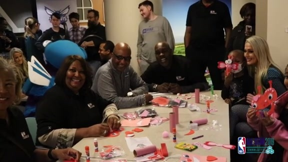 2019 NBA All-Star Weekend | NBA Cares Hospital Visit – 2/14/14