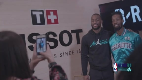 2019 All-Star Weekend | Recap | Kemba Walker Tissot Appearance - 2/15/19